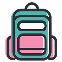 school, education, student, website, Company DarkSlateGray icon