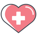 medical, medical rescue, medical scheduling, medical supplies, Health Care, medical advice, medical help LightCoral icon