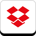 media, dropbox, Logo, Social, Company, Brand Red icon