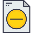 Business, Form, document, paper, Message, remove, office, Page Lavender icon