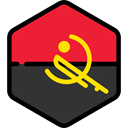 world, flag, Angola, flags, Country, Nation Crimson icon