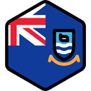 Nation, Falkland Islands, world, flag, flags, Country MidnightBlue icon