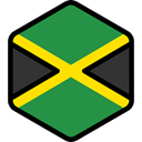 world, flag, Jamaica, flags, Country, Nation SeaGreen icon