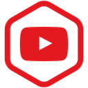 share, Social, youtube, media, movie, video, yumminky Crimson icon