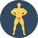 carnival, Fairground, Sports And Competition, Professions And Jobs, Strongman, Circus DarkSlateGray icon