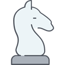 Game, knight, chess, strategy, horse, sports, piece, Seo And Web WhiteSmoke icon