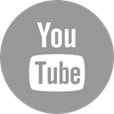 media, online, Social, youtube, tube, you DarkGray icon
