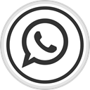 Logo, Social, Whatsapp, media, online DarkSlateGray icon