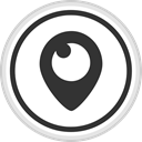 media, online, Logo, Social, Periscope DarkSlateGray icon