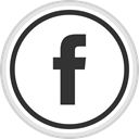 media, online, Logo, Facebook, Social DarkSlateGray icon