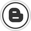 Social, media, online, Logo, blogger DarkSlateGray icon