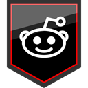 Social, Epic, Brand, Logo, award, Reddit, media Black icon