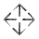 Arrow, Move, navigation, location, Direction, Slide, Arrows Black icon