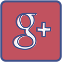 plus, google, Metro, outline IndianRed icon