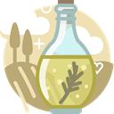 Cooking, ingredients, Tuscany, yumminky, olive, Bottle, Oil DarkKhaki icon