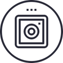 Social, social icon, ig, media, network, Logo DarkSlateGray icon