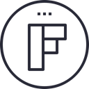 media, network, Logo, Social, Flipboard, social icon Black icon