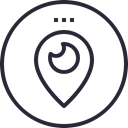 media, network, Logo, Social, Periscope, social icon Black icon