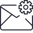 Email, envelope, mail, Letter, Business, Address, Communication, Mailbox Icon