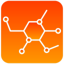 scientific, Molecular DarkOrange icon