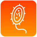 scientific, Bacteria DarkOrange icon