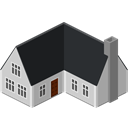house DarkSlateGray icon
