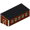 Barn Black icon