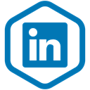 media, share, work, In, Linkedin, Social, yumminky DarkCyan icon