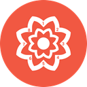 Flower, chart, pie, Stats, infographic Icon