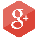 media, social media, Social, Colored, google plus, Hexagon, High Quality Icon