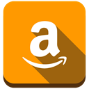 buy, Amazon, market Orange icon
