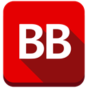 Authors, market, bookbub, Book, store, Shop Red icon