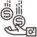 Hand, Finance, Accounting, Cash, Currency, receive, Money Icon