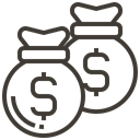 pawnshop, Currency, Loan, asset, Finance, Money, shopping Black icon
