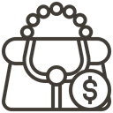 pawnshop, Currency, Loan, asset, Money, Briefcase, Bag Icon
