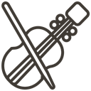 music, instrument, Loan, Violin, asset, pawnshop DarkSlateGray icon