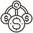 Finance, Money, Cash, payment, Loan, asset, pawnshop DarkSlateGray icon