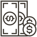 financial, Loan, asset, Money, Cash, Currency, pawnshop DarkSlateGray icon