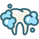 Dentist, medical, tooth, oral hygiene, dental, Dentistry, Teeth Cleaning SeaGreen icon