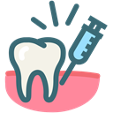dental treatment, Anesthetic, dental anesthesia, painless, Dentist, tooth, Dentistry SeaGreen icon