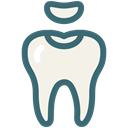 dental treatment, molar cavity, Dentist, medical, tooth, dental, Decayed tooth Black icon