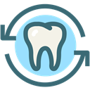 oral hygiene, dental, Dentistry, Dental Care, Dentist, medical, tooth SeaGreen icon