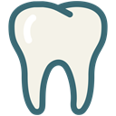 Dental Care, perfect teeth, tooth, dental, Dentistry, Dentist, medical, Teeth Linen icon