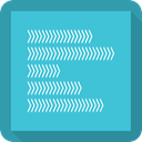 Bar, chart, graph, Business, Bar chart MediumTurquoise icon