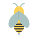Apiary, apiculture, beekeeping, insect, fly, Bee, Honey Black icon