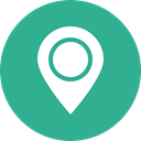 location, Direction, green, Map, marker, navigation, Gps LightSeaGreen icon