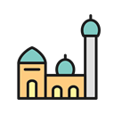 Free0003, islamic mosque, Mosque Black icon