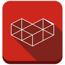 Game, gaming, google, youtube gaming, social media, Social, youtube Firebrick icon