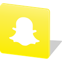 media, Logo, social media, Social, Communication, Snapchat Yellow icon