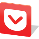 media, Logo, share, social media, Social, pocket Crimson icon